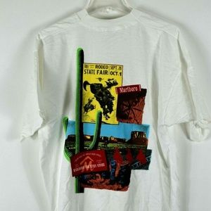 Vintage Marlboro Country Store Pocket T Shirt XL